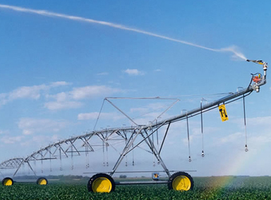 irrigation sprinkler slide
